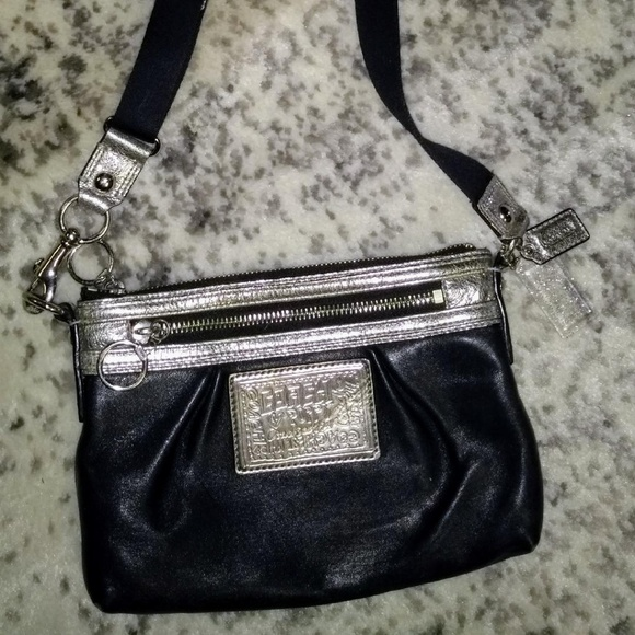 Coach Handbags - Coach Small Black Crossbody